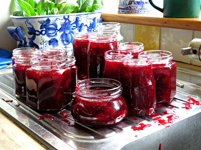 Loganberry & Lemongrass Jam