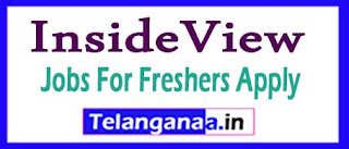 InsideView Recruitment 2017 Jobs For Freshers Apply