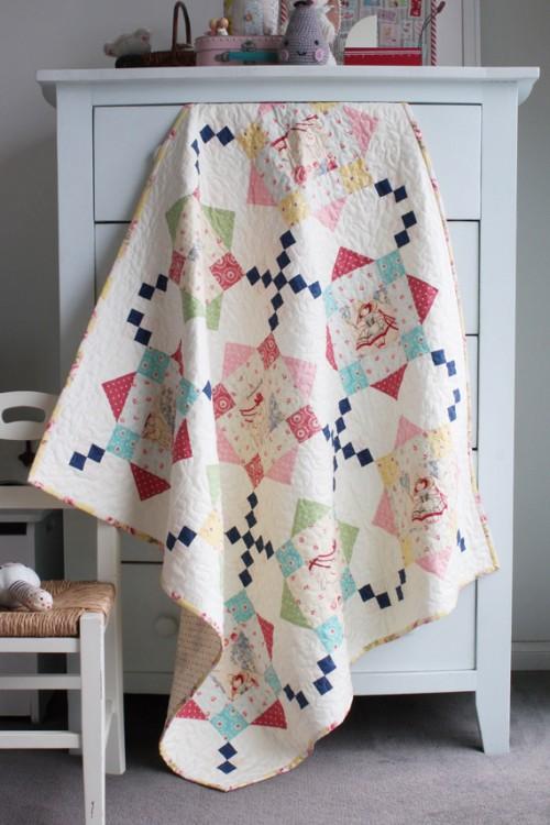 Bon Bon Bebe - Free Quilt Pattern