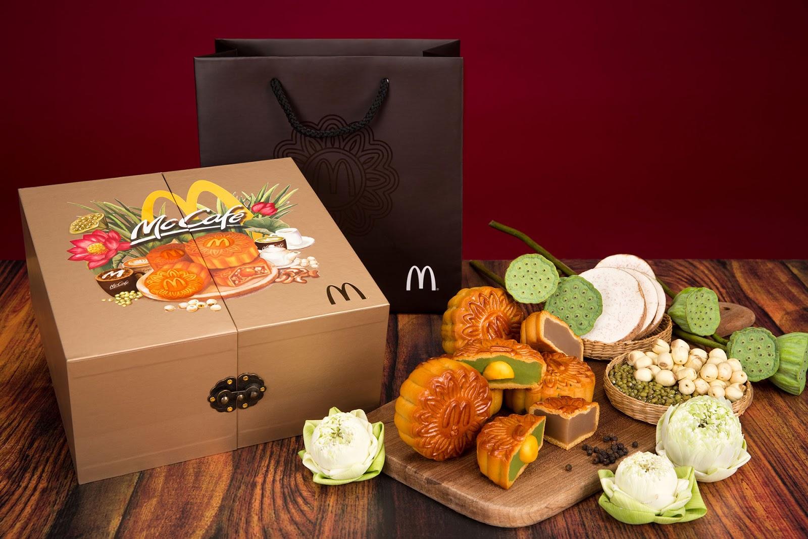McDonald's Vietnam - Mooncake Box 2017 on Packaging of the
