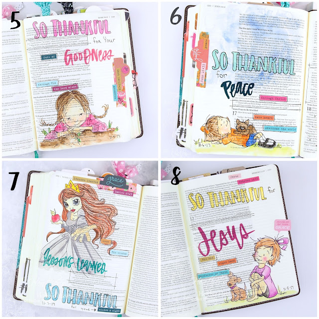 Heather's Hobbie Haven - Illustrated Faith - Gratitude Documented