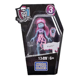 MH Ghouls Collection 3 Kiyomi Haunterly Mega Blocks Figure