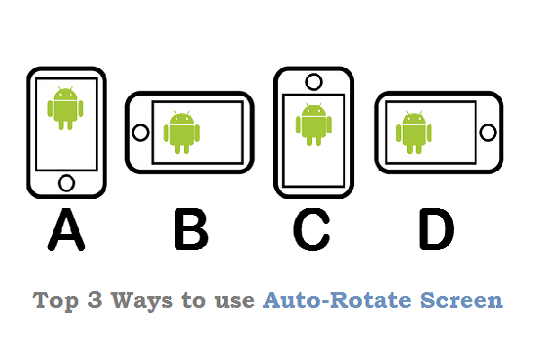 Auto rotate Android