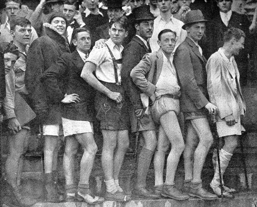 In The Late 1920s The Men S Dress Reform Party Endorsed