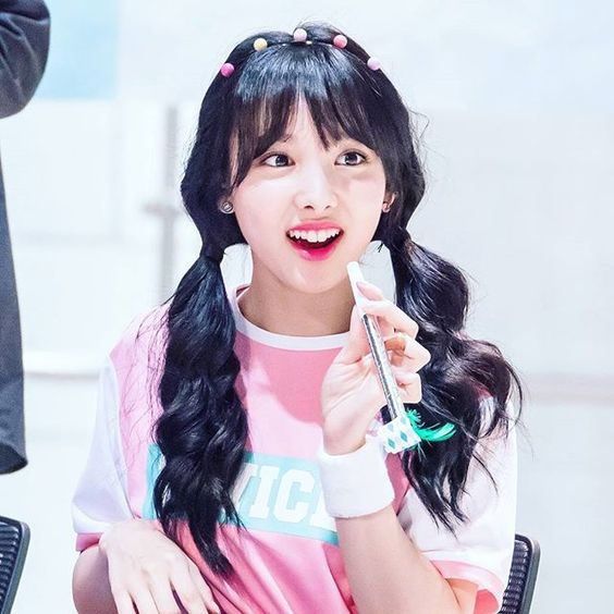 Dahyun Twice Beautiful Girl Wallpaper Top 10 Female Idols With Pigtails Hairstyle Daily K Pop