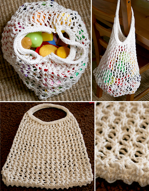Grocery Bag - Free Pattern