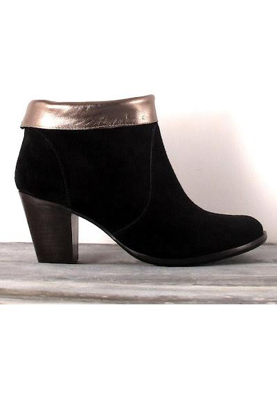 Boots Tara noir Anonymous