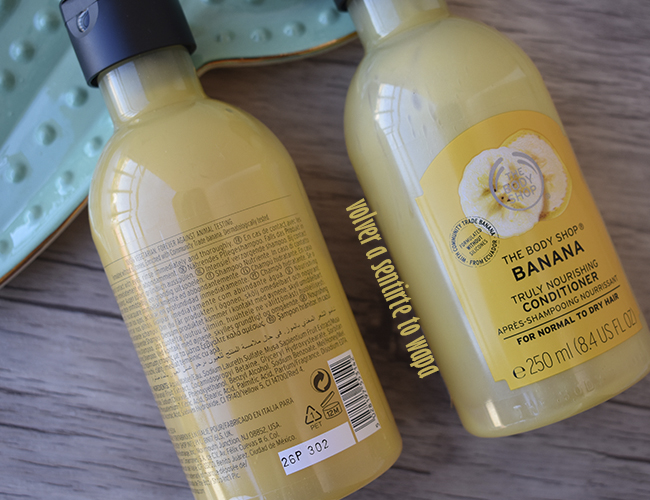 Gama Capilar BANANA de The Body Shop