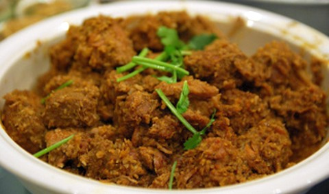 Rendang lamb curry