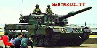 Gambar Tulisan Om Telolet Om Tentara