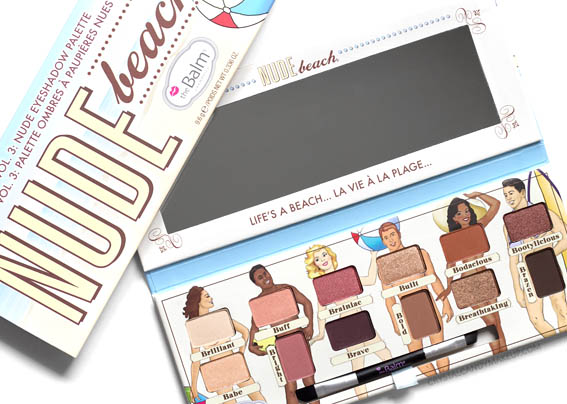 TheBalm Nude Beach Eyeshadow Palette Vol. 3 Review Photos Swatches