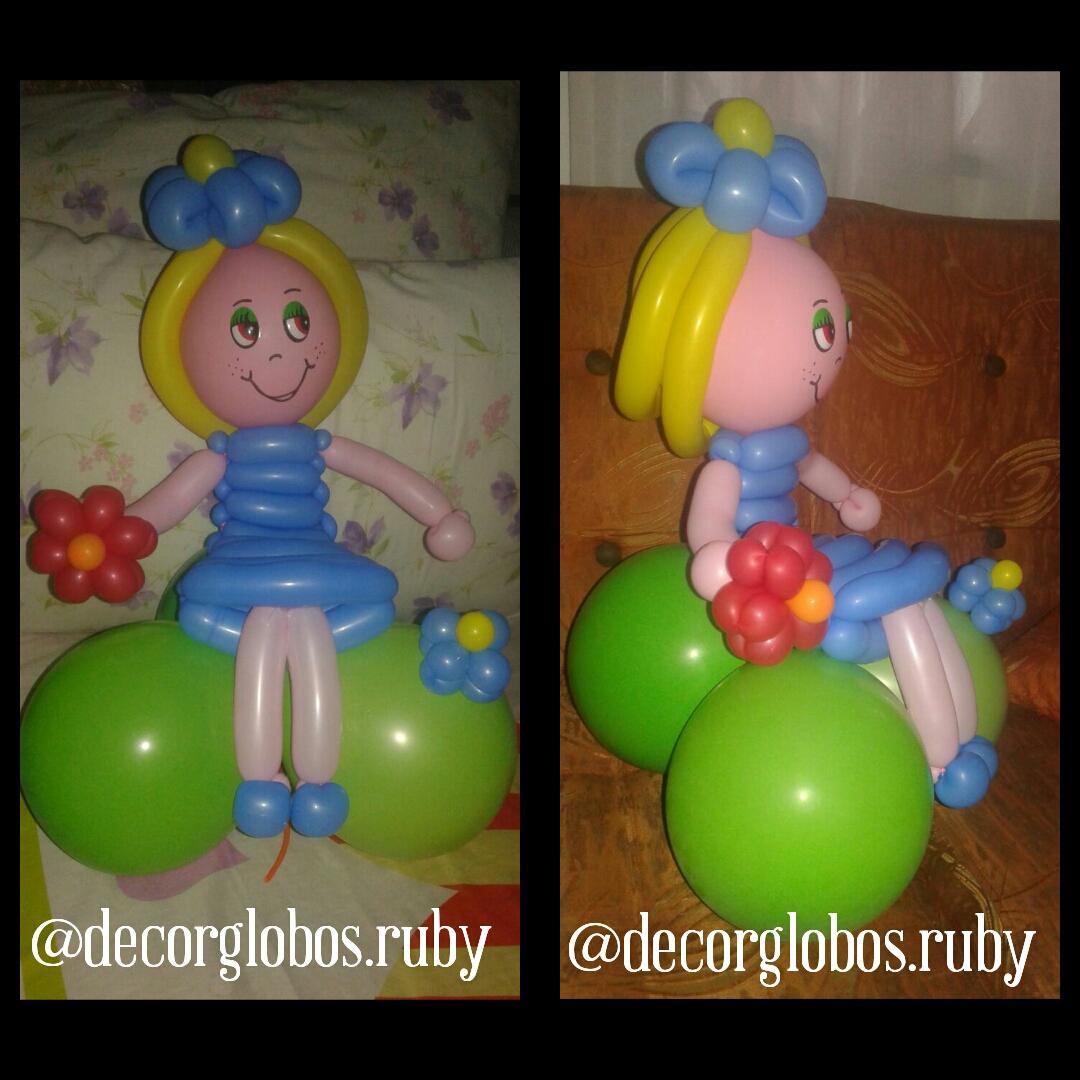 Figuras Con Globos Largos Como Hacer Formas Con Globos Redondos - Formas-con-globos-largos