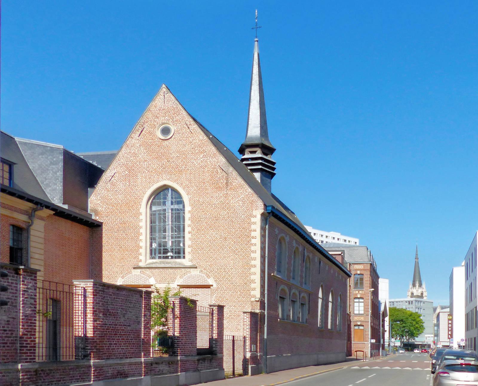 Photo Hospice d'Havré, Tourcoing - Chapelle, rue de Tournai