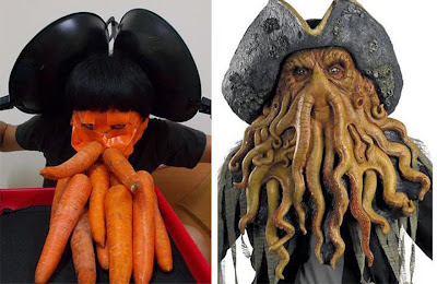 Disfraz de Davy Jones cosplay