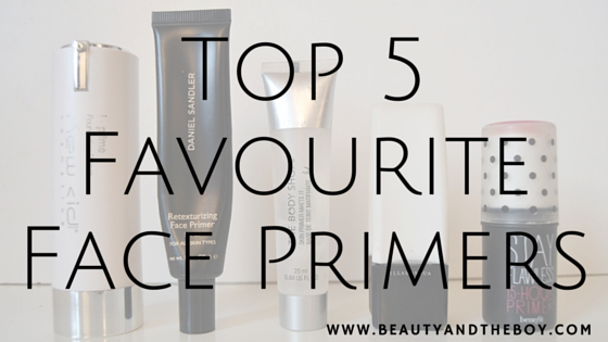 Top 5 Favourite Face Primers