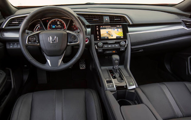 2017 Review Honda Civic Hatchback interior