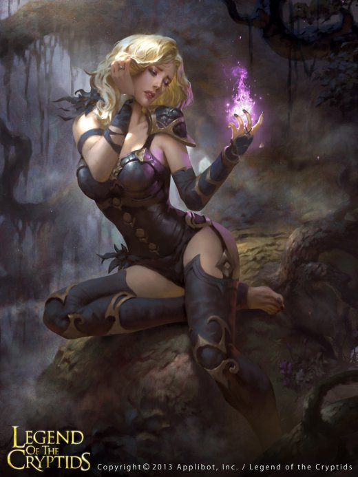 Lius Lasahido deviantart ilustrações fantasia arte conceitual card games legend of the cryptids