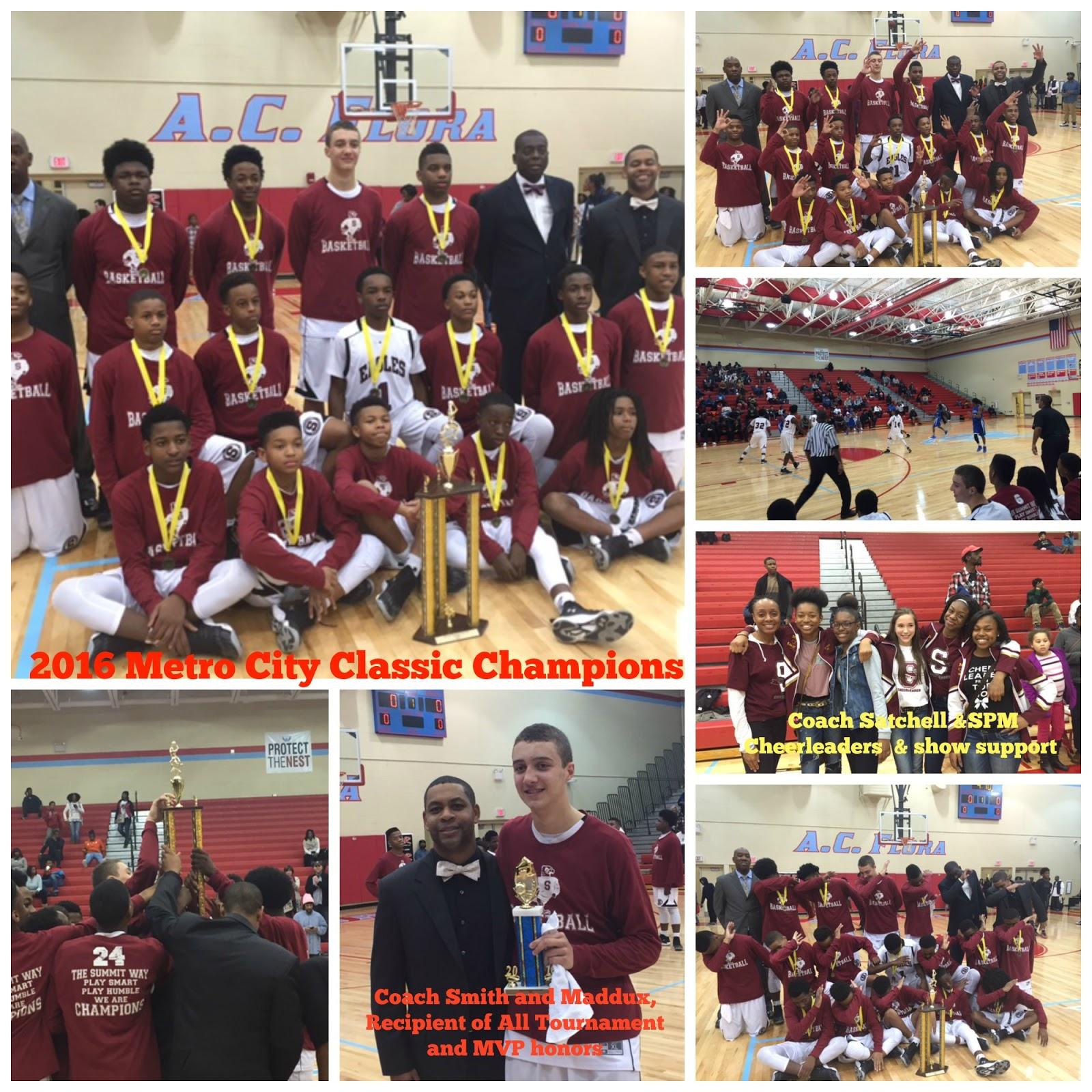 SUMMIT UP NEWS: SPMS Boys Basketball Team Win the Metro City