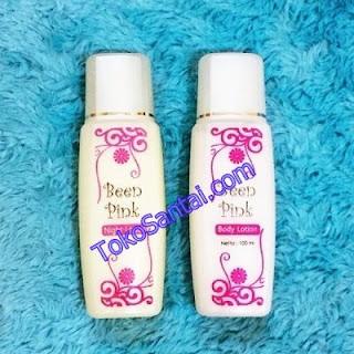 Lotion Pemutih Badan Been Pink Original