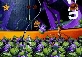 Toy Story Mega Drive