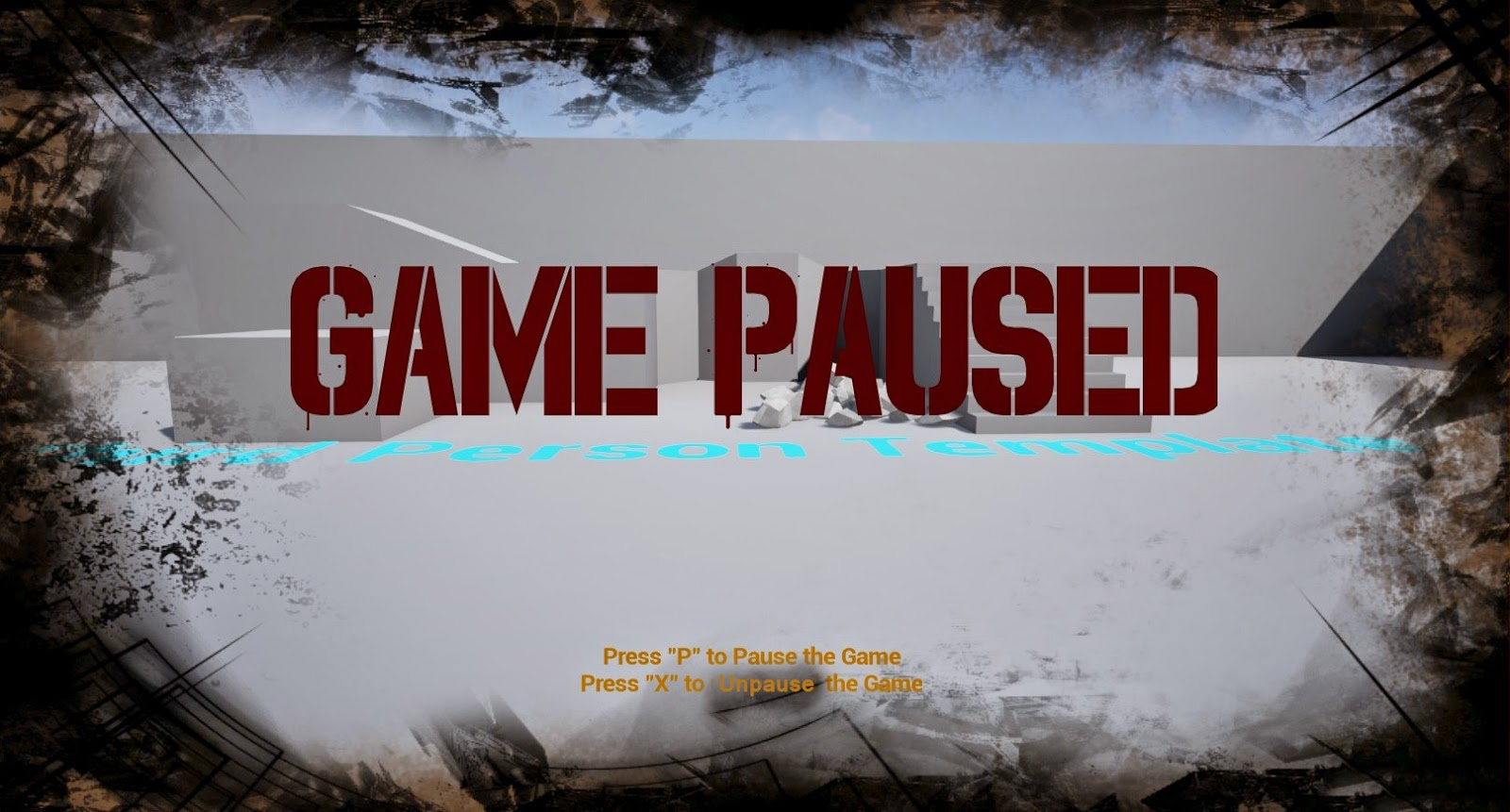 Pause Screen in UE4