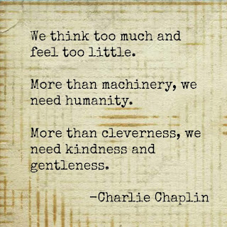 Kindness quote by Charlie Chaplin