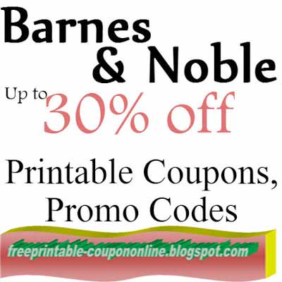 Barnes and noble coupons 2018 october