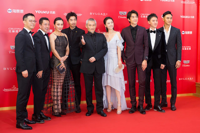 Detective Dee 3 cast Shanghai International Film Festival