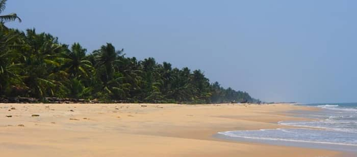 Alappuzha Beach in Kerala