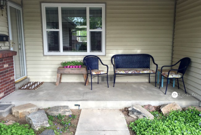 before of porch