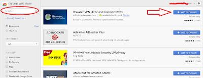 Cara Menembus Internet Positif di Google Chrome