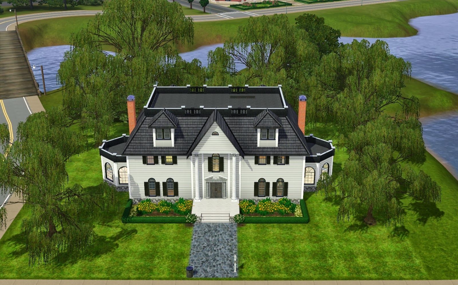 Sims 3 Mansion Floor Plans Summer S Little Sims 3 Garden Twinbrook The Sims 3