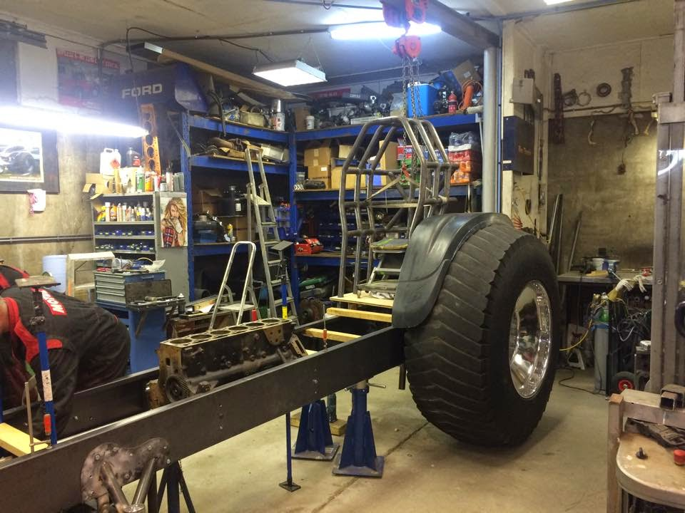 Garden Tractor Pull Sled Build