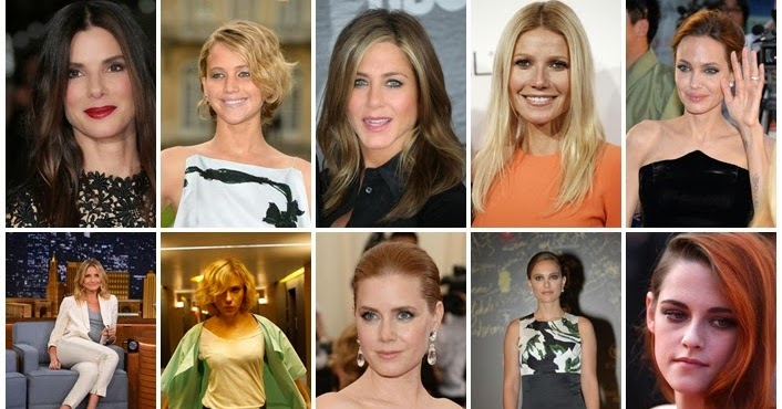 Top 10 Highest Paid Actress In Hollywood Forbes List 2014 border=