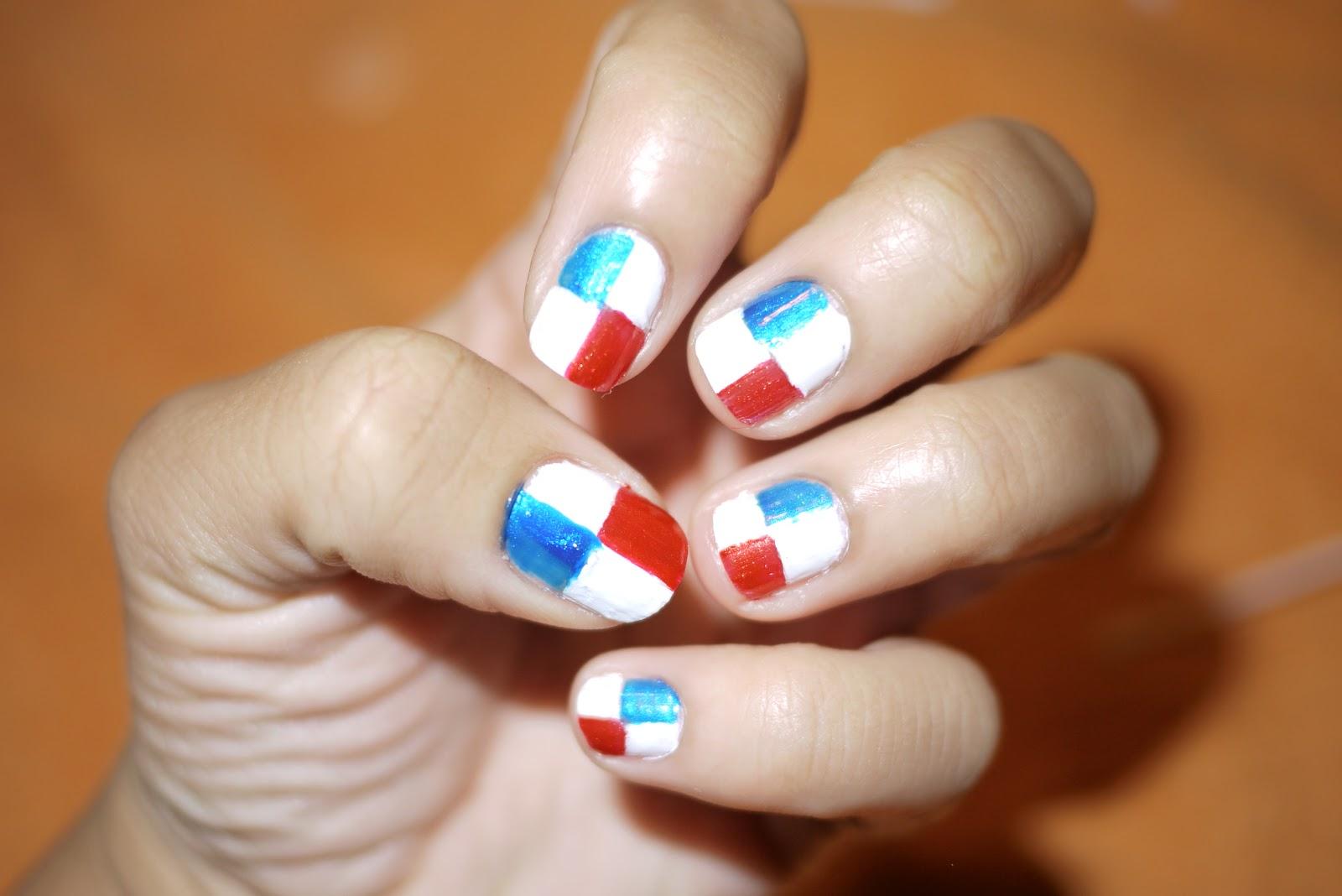 AngelaPanama.com: Panama Flag Nails