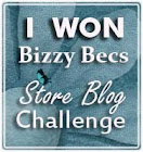 Bizzy Bec's Store Blog Winner