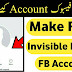 How To Create Facebook Invisible Name Account 2018/19 By Pakurduworld