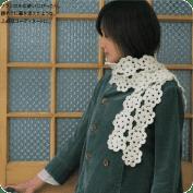 Bufanda de flores a Crochet