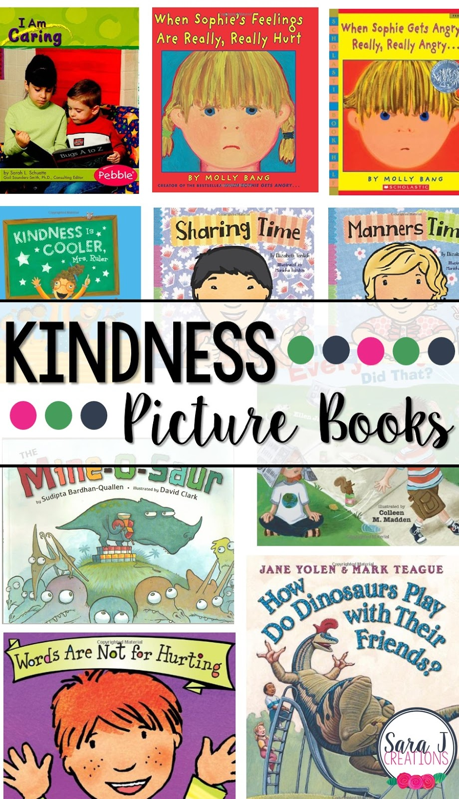 10 great picture books for teaching young children about kindness