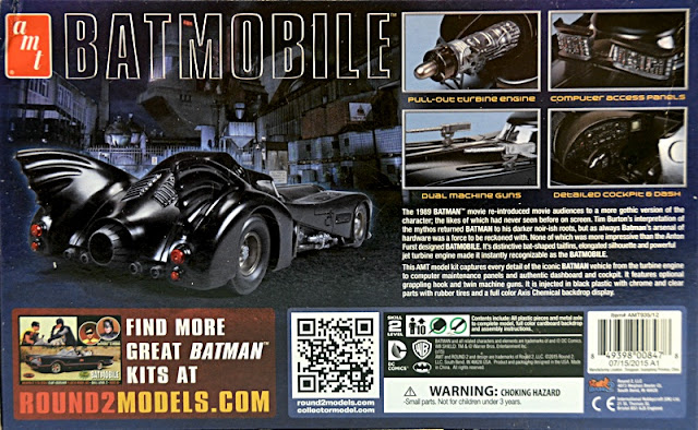Scale Model News Round 2 Batmobile Anton Furst Design