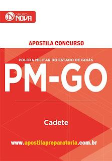 Apostila da PMGO 2016 Cadete para o Concurso Público Polícia Militar de Goiás