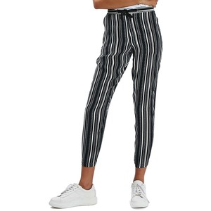 Stripe tapered slouch pants, SGD 108.89 from Topshop