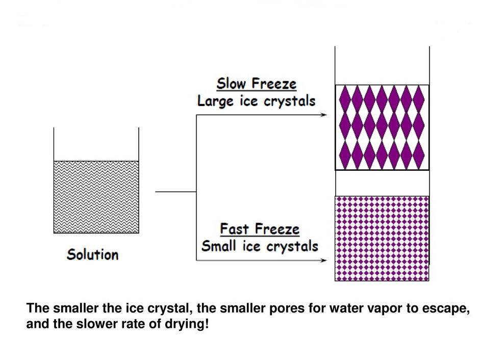 Pharmaperception: Concept of Freezing in lyophilization-II