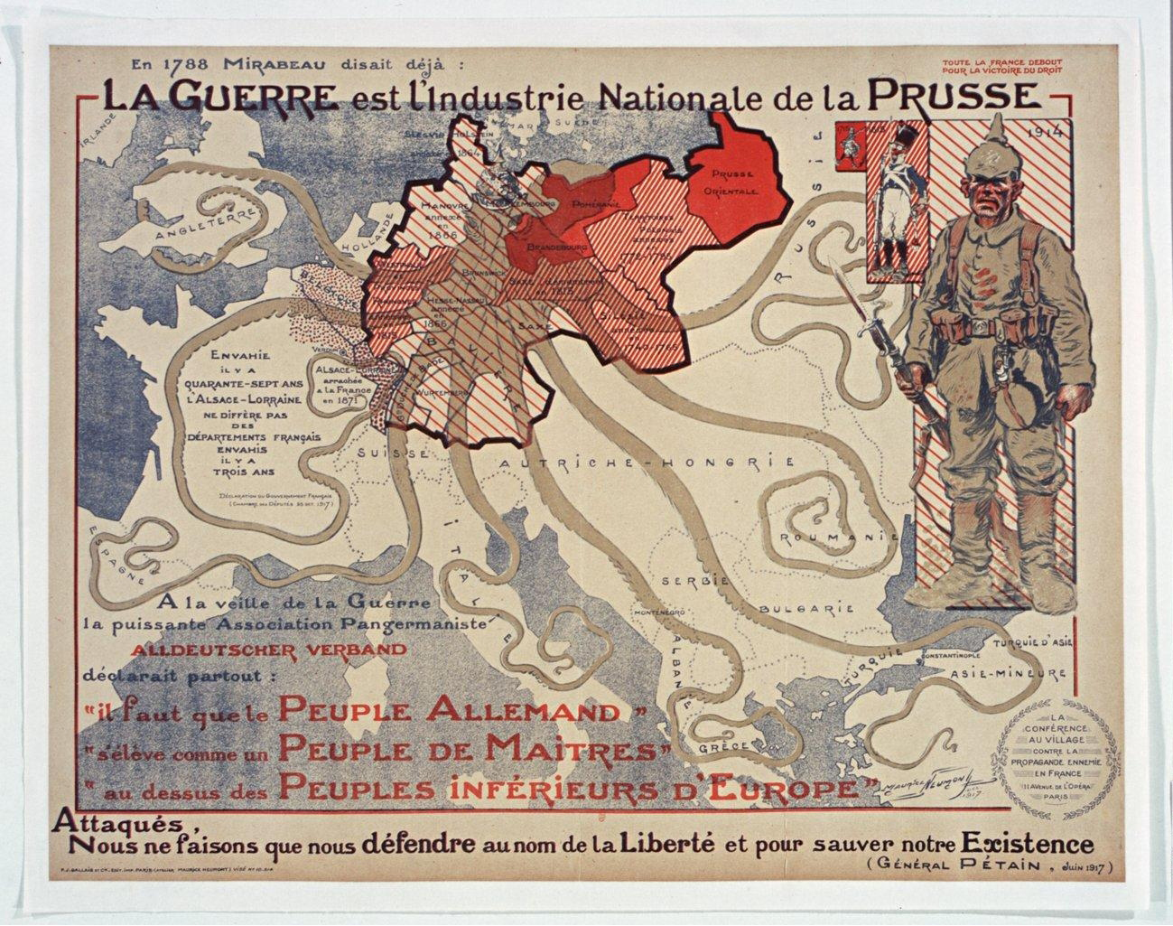 The Octopuses Of War Ww1 Propaganda Maps In Pictures
