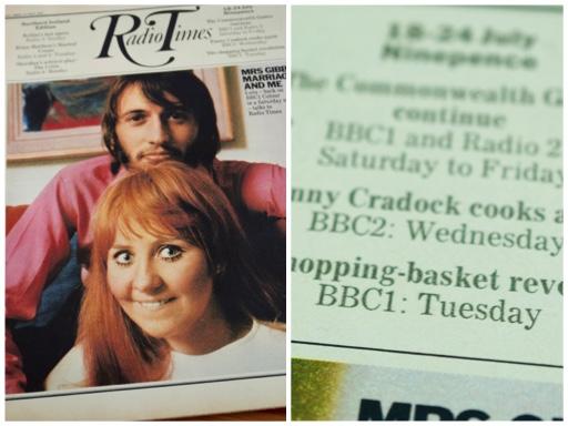 Fanny Cradock Radio Times
