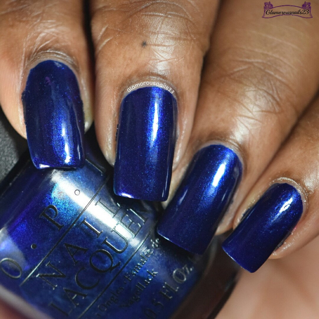 O.P.I Yoga-Ta Get This Blue! - Glamorousnails23