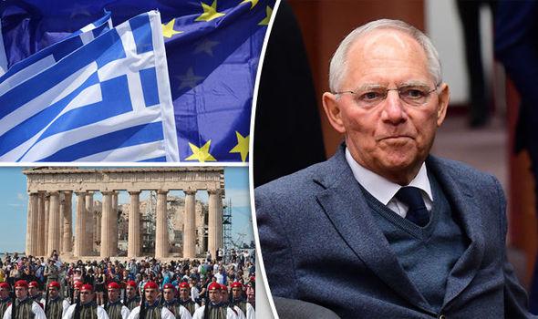 Ελλάδα, ο περίγελος των γερμανών