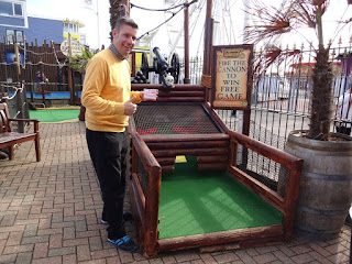 Last year I won ANOTHER FREE GAME PASS at Treasure Island Adventure Golf in Southsea