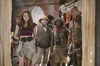 Jumanji: Welcome to the Jungle Jack Black, Kevin Hart, Dwayne Johnson and Karen Gillan Image 1 (5)