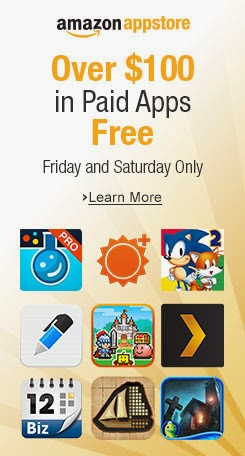 Amazon Appstore offering 31 paid apps & games worth $100 for free